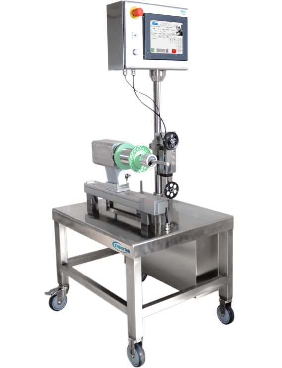 Unwinder with electromagnetic dancer for medical clean-room application