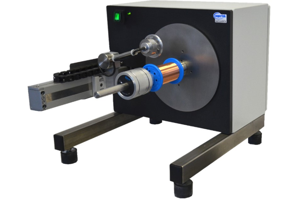 Winder with electronic layer for spooling